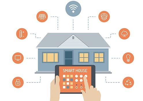 Tablet PC with Smart House Apps