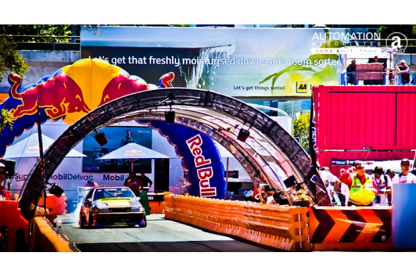 Red Bull car show