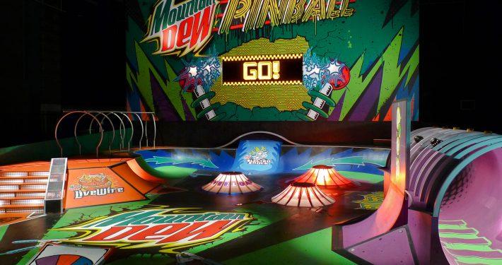Mountain Dew Pinball Skate Park