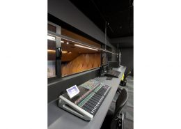 Recording room for students at MIT