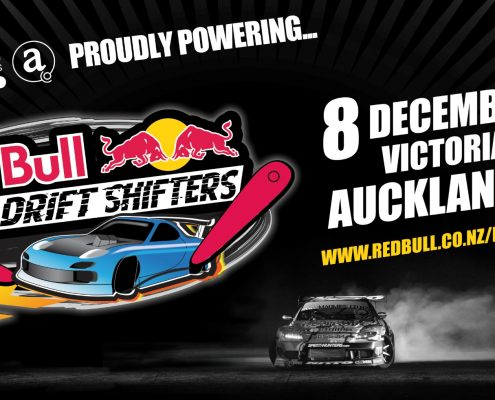 Red Bull Drift Shifters Banner