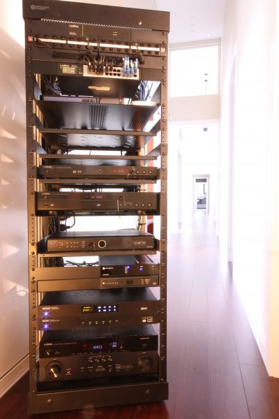 Home Automation AV Equipment Rack