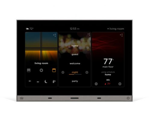 Vantage Equinox LED touchscreen